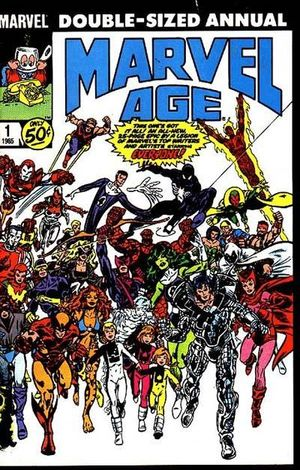 cover Marvel Age Annual #1