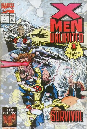 cover X-Men Unlimited (1a) #1