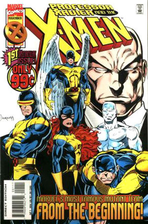 cover Professor Xavier and the X-Men #1