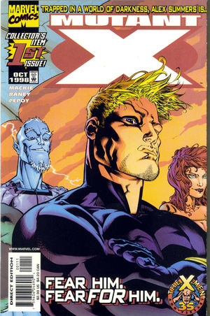 cover Mutant X #1