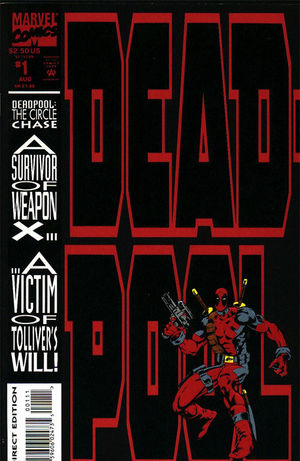 cover Deadpool: The circle chase #1