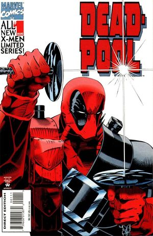 cover Deadpool: Sins of the past #1