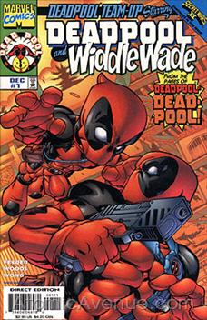 cover Deadpool Team-Up (Starring Widdle Wade)