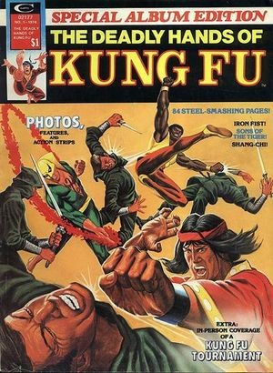cover Deadly Hands of Kung-Fu Special