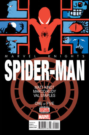 cover Marvel Knights Spider-Man (2a) #1