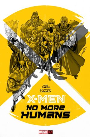 cover X-Men: No More Humans