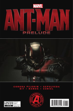 cover Marvel's Ant-Man Prelude #1