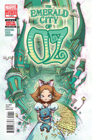 cover The Emerald City of Oz #1