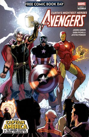 cover Free Comic Book Day 2018 (Avengers/Captain America)
