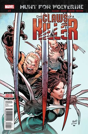 Cover Hunt For Wolverine: Claws of a Killer #1