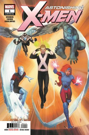 Cover Astonishing X-Men Annual (2a)