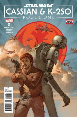 cover Star Wars: Rogue One - Cassian and K2-S0 Special