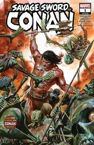 Cover Savage Sword of Conan (2a) #1