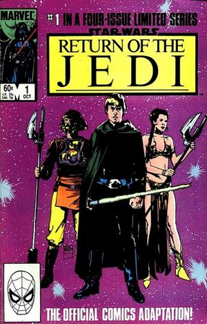 cover Star Wars: Return of the Jedi #1