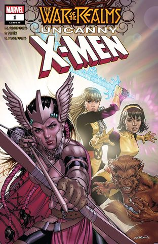 cover War of The Realms: Uncanny X-Men #1
