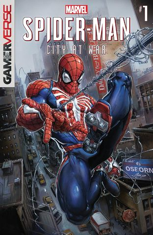 Cover Marvel's Spider-Man: City at War #1