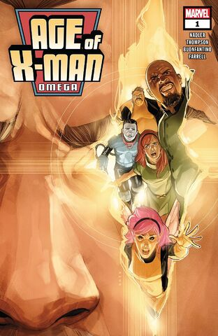 Cover Age of X-Man Omega