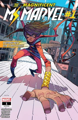 cover Magnificent Ms. Marvel #1