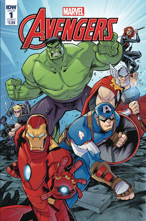 cover Marvel Action Avengers (1a) #1